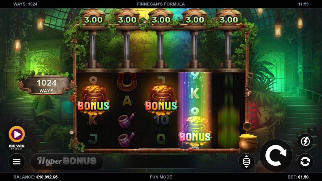 Finnegan's Formula bonus